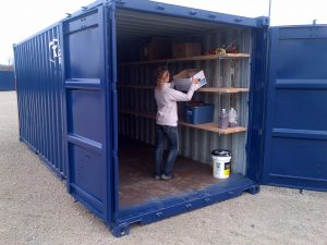 Storage container for home storage