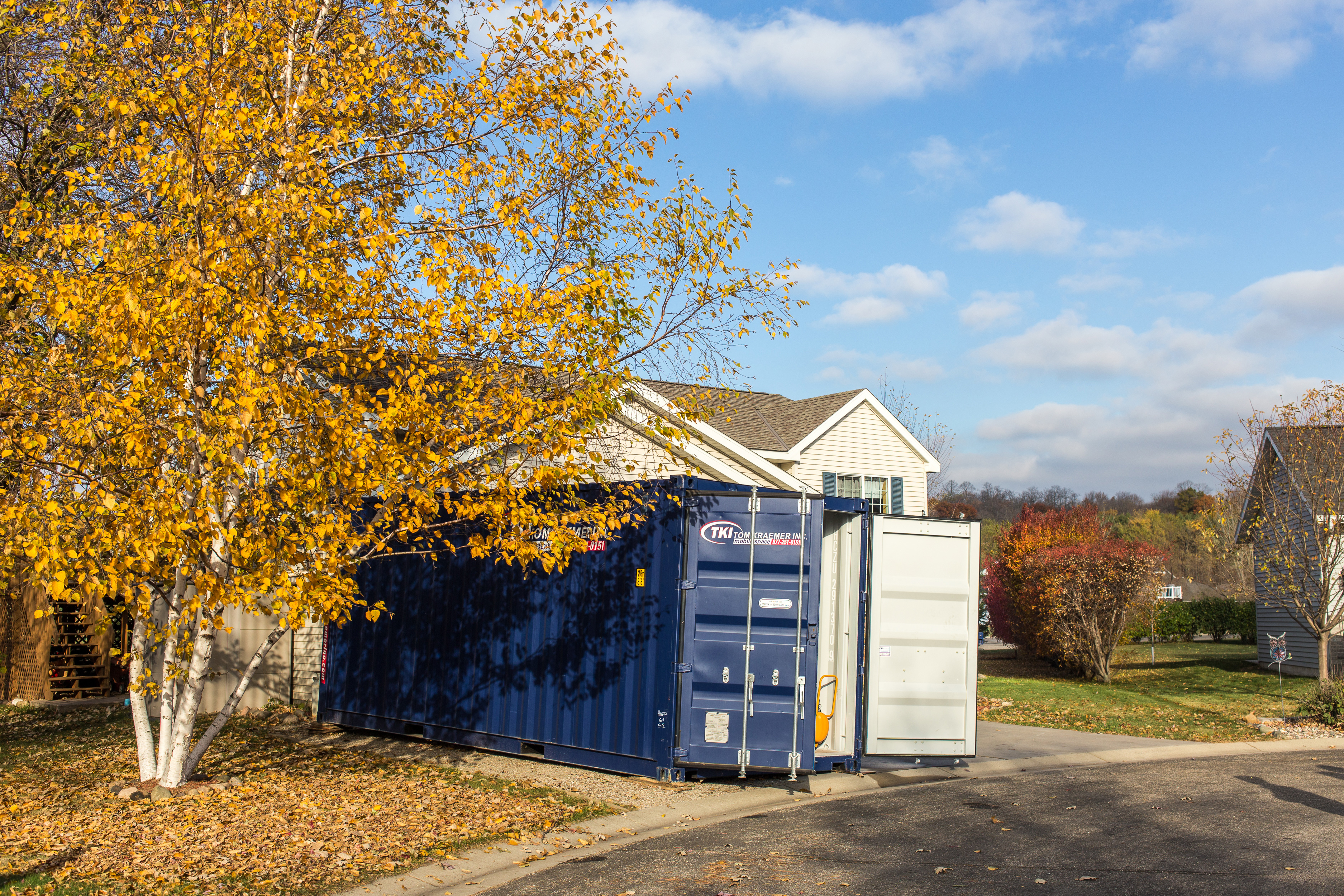 Residential Portable Storage Containers St Cloud