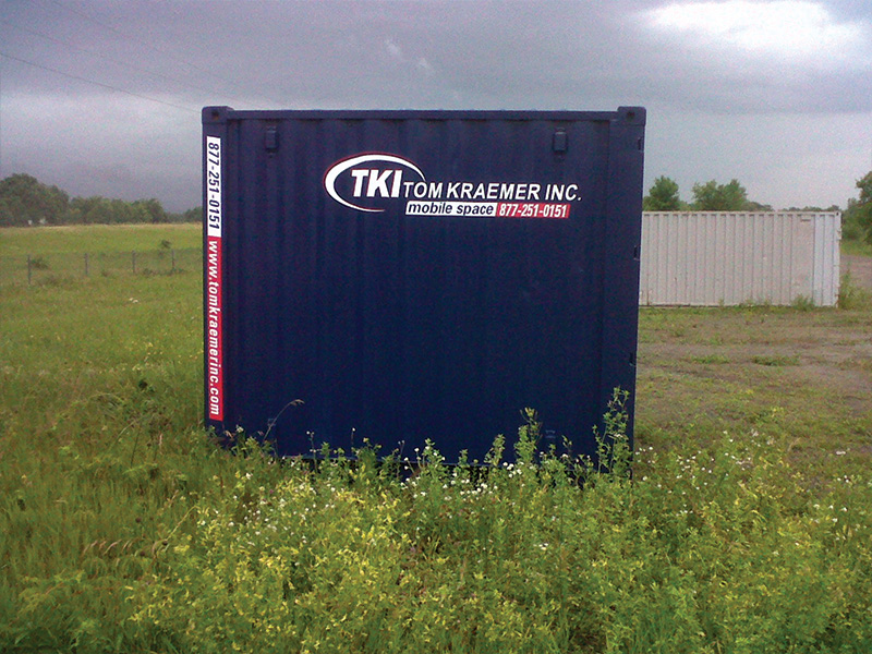 TKI Portable Storage Container