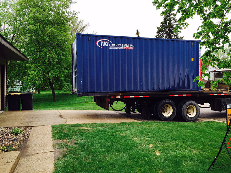 Portable Storage Container Delivery